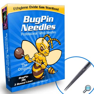 Round Liner BugPin Tattoo Needles