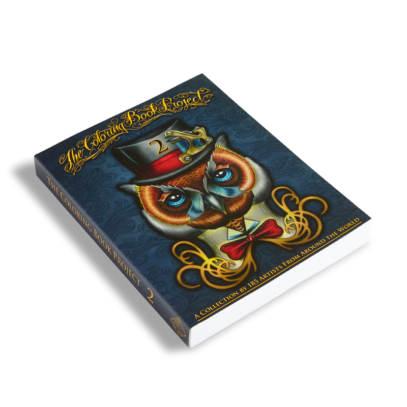 The Tattoo Coloring Book Project 2nd Edition