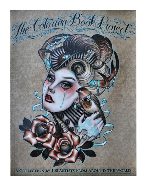 The Tattoo Coloring Book Project