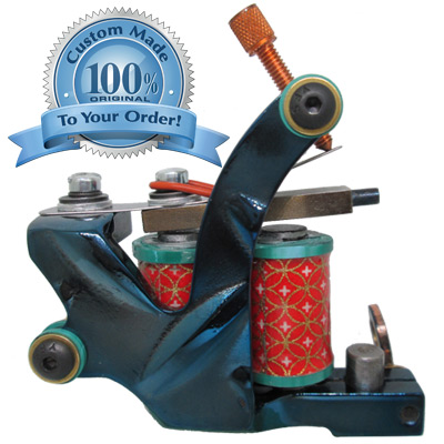 Dringenberg Diamond Plate Streamliner Tattoo Machine