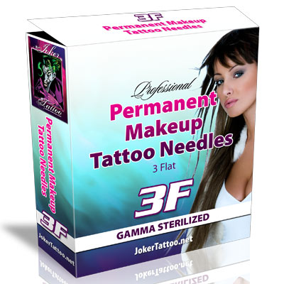 Permanent Makeup Tattooing Needles 3F