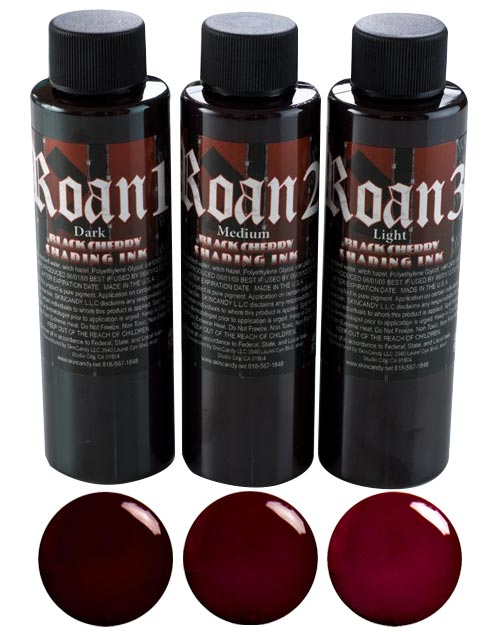 Roan - Bloodwash Shading Ink - 3 Bottles