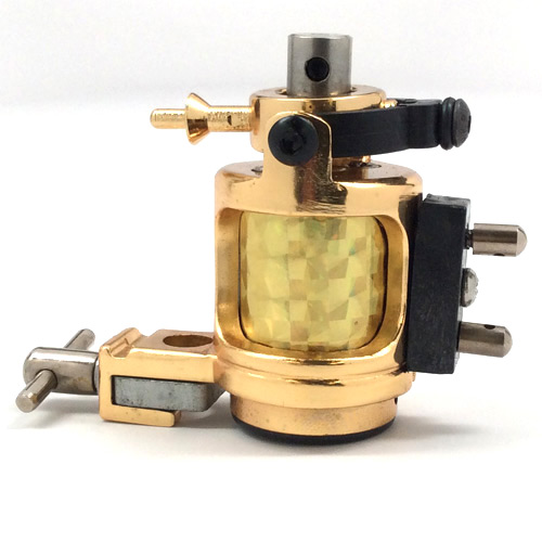 Hammer Rotary Tattoo Machine Gold
