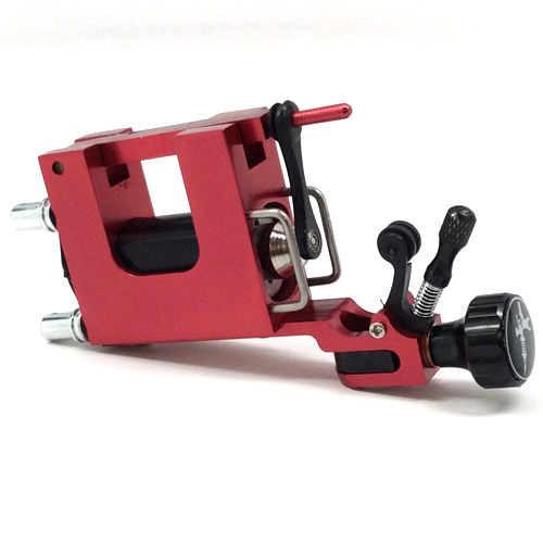 Swiss Rotary Tattoo Machine - Red