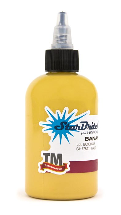 StarBrite Tattoo Ink Banana Cream