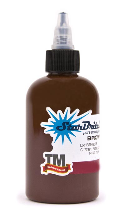 StarBrite Tattoo Ink Brown Sienna