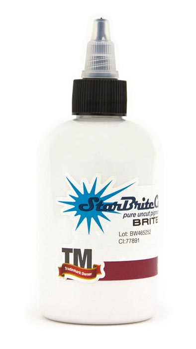 StarBrite Tattoo Ink Brite White