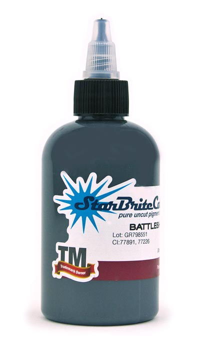 StarBrite Tattoo Ink Battleship Grey