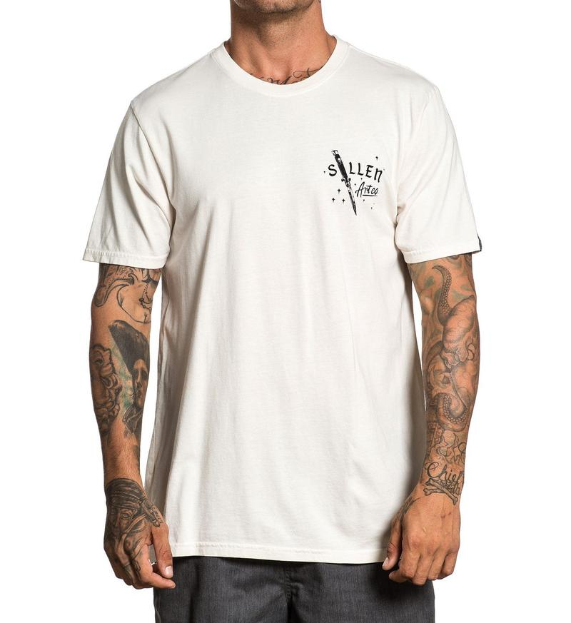 Sullen Cut Off White Tee