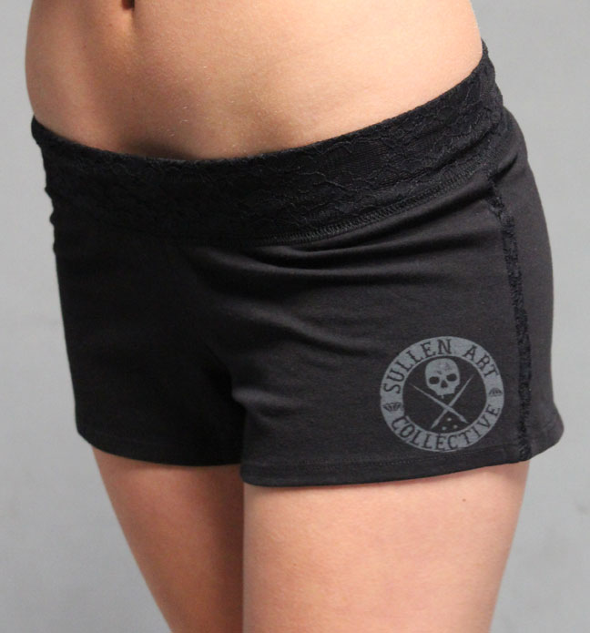 Sullen Angel Cheer Shorts